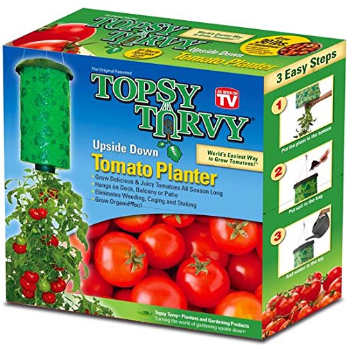 Topsy Turvy Upside-Down Tomato Planter - First Planters
