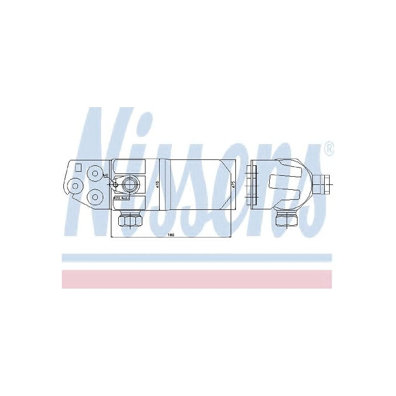 Nissens 95472 Trockner Klimaanlage