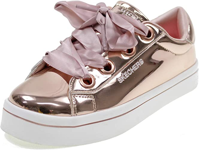 Skechers Chaussures Memory Foam Hi Lite Liquid Bling Fille