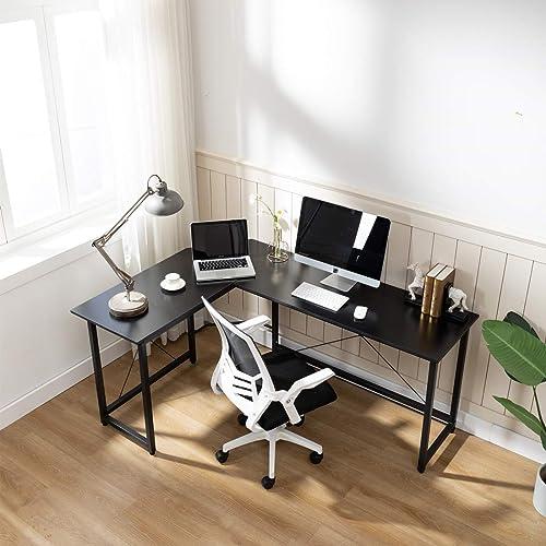Sengo L Shaped Computer Desk Home Office Desks Work Table Gaming Desk Study Writing Table Workstation Home Office Furniture