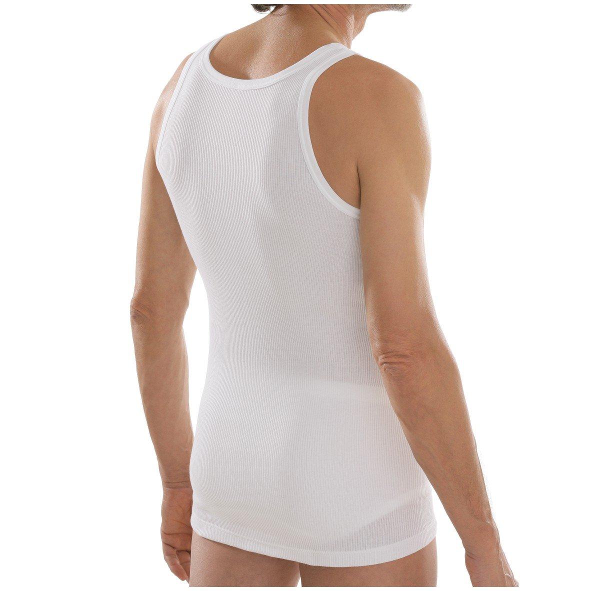 comazo Herren platin Hemd ohne Arm Doppelripp  Amazon.de  Bekleidung 4ec81ea3f7