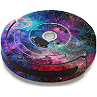 Skin Decal Vinyl Wrap For IRobot Roomba 650 655 Vacuum / Colorful Space Gasses
