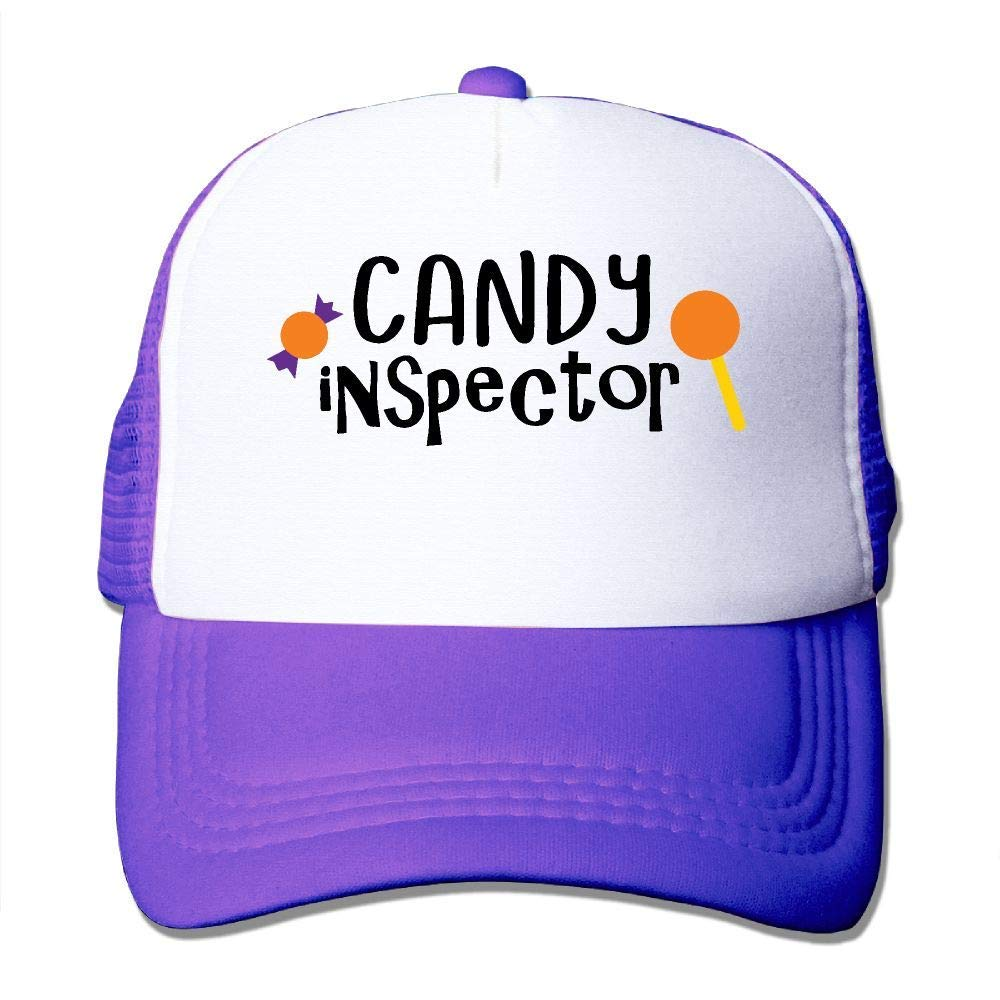 nikeely Candy Inspector Fashion Mesh Trucker Hat Adjustable Baseball Cap