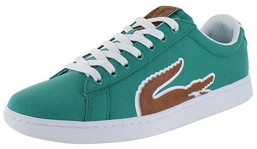 Lacoste Carnaby grande cocodrilo zapatillas de tenis Hombre UK tamaños: Amazon.es: Zapatos y complementos