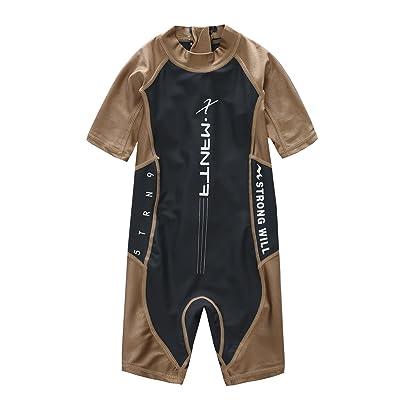 M2C X-Manta Boys Girls Swimsuit UPF 50+ UV Sun Protective One-Piece