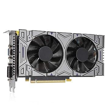 SODIAL GTX 1050 - Tarjeta gráfica para Nvidia Geforce (2 GB ...