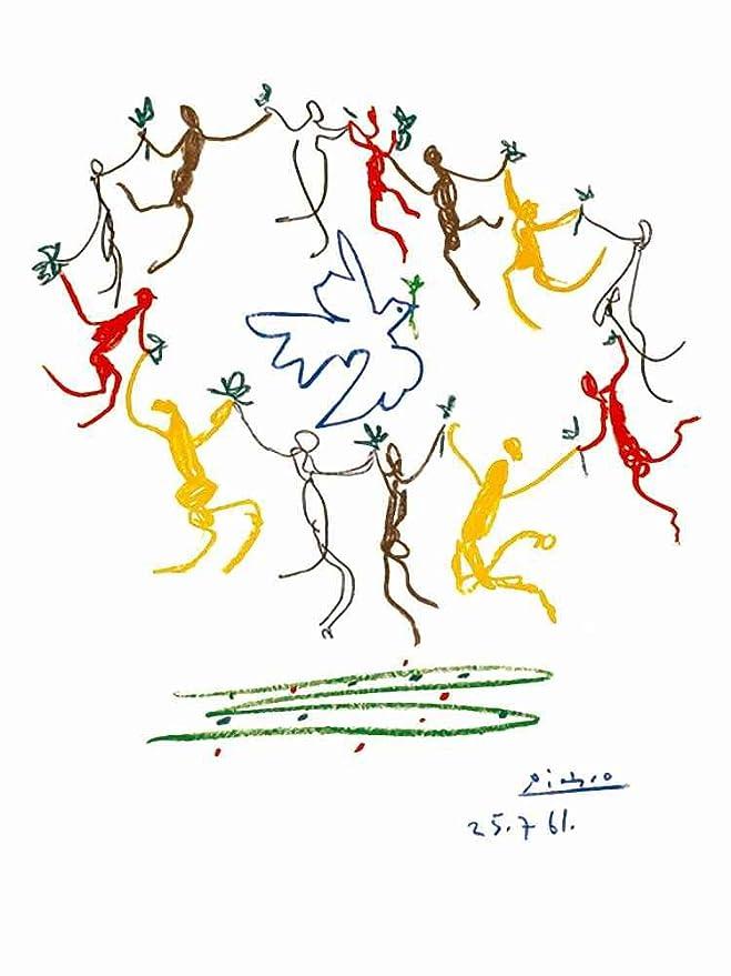 Amazon Com Art Printposter Pablo Picasso La Ronde De La Jeunesse