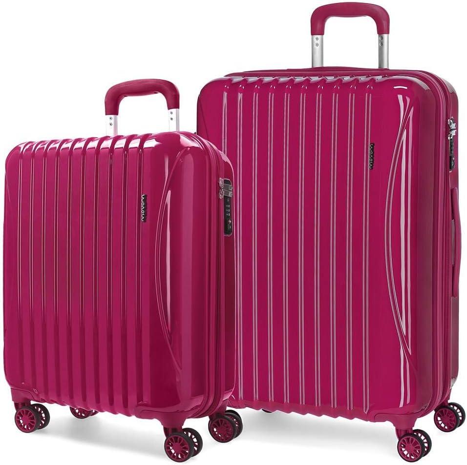Juego de maletas rígidas 55-67cm Movom Trafalgar Rojo