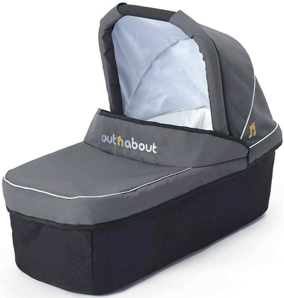 Out 'N' About Nipper Carry Cot - Steel Grey