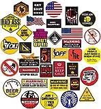 35 Hard Hat Sticker,Tool Box Stickers- 100% Plastic(Vinyl), Funny...