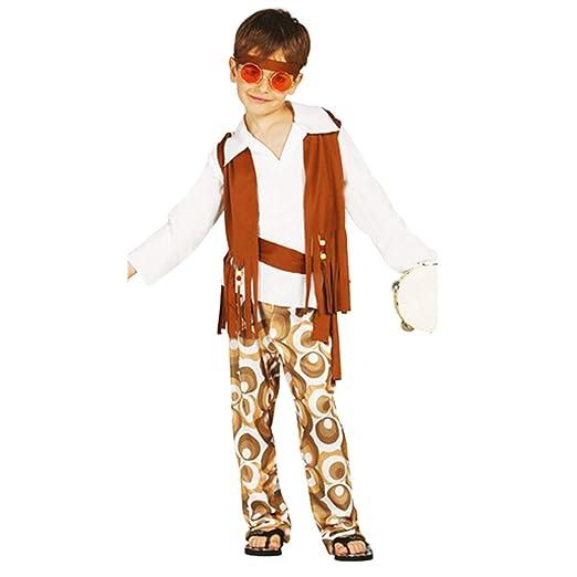 Guirca - Disfraz Hippie niño Infantil 10 a 12 años: Amazon.es: Hogar