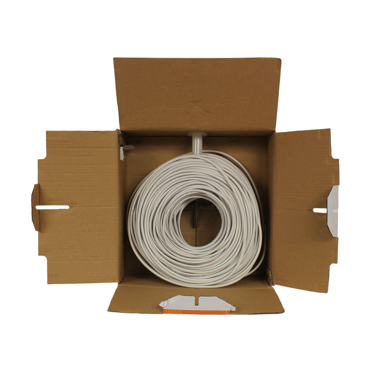 NavePoint 500ft in Wall Audio Speaker Cable Wire CL2 12//2 AWG Gauge 2 Conductor Bulk White