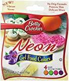 Betty Crocker Neon Gel Food Colors