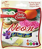 Betty Crocker Food Color Neon Gel, 2.7 oz