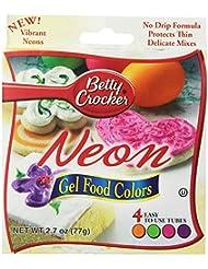 Betty Crocker Food Color Neon Gel, 2.7 oz