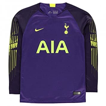 Nike 2018-2019 Tottenham Home Goalkeeper Football Soccer T-Shirt Camiseta (Purple) - Kids: Amazon.es: Deportes y aire libre
