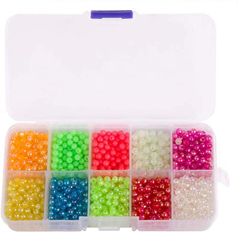 SEA FISHING RIG BEADS 500 X 6 mm for rig making