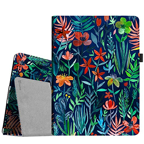 Fintie iPad 4/3/2 Case - Slim Fit Folio Stand Case Smart Protective Cover Auto Sleep/Wake Feature for Apple iPad 2, iPad 3 & iPad 4th Generation with Retina Display - (Z-Jungle Night) (Best Case For Ipad 4 With Retina Display)