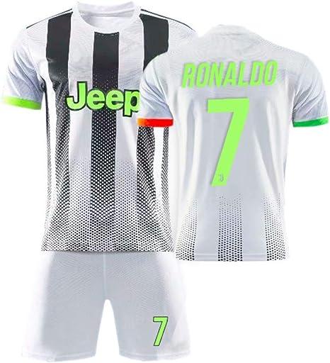 taotao377 Camiseta Juventus,Juventus Jersey, Versión De Cooperación Palace, Edición Especial Verde Fluorescente, Ronaldo El 7, Dybala El 10, Uniforme De Fútbol para Niños Adultos: Amazon.es: Ropa y accesorios