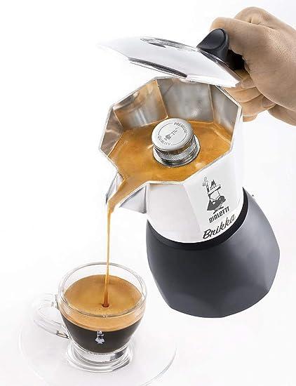 Bialetti New Brikka Cafetera Italiana Que eroga Doble Crema, 2 ...
