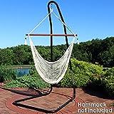 Sunnydaze Adjustable Hammock Chair Stand - 79 to 93