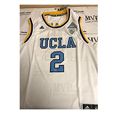 pretty nice 97762 073ab Brand Basketball T-Shirts Mens UCLA Ball #2 Basketball Jersey White Color