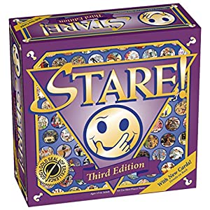 Stare! Board Game - 3rd Edition - 61ir4c6ubKL - Stare Family Board Game – 3rd Edition for Ages 14 and up