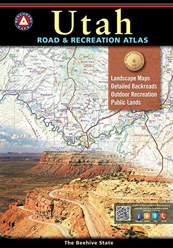 Utah Road & Recreation Atlas (Benchmark Maps) (Topo Maps Utah)