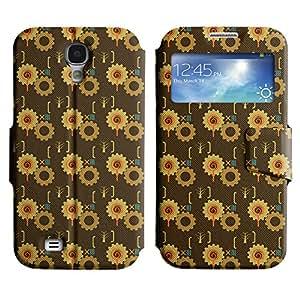 LEOCASE patrón increíble Funda Carcasa Cuero Tapa Case Para Samsung Galaxy S4 I9500 No.1006976