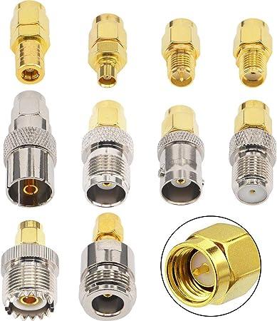 Sma Adapter Kits Sma Stecker Auf N F Bnc Uhf Mcx Smb Elektronik