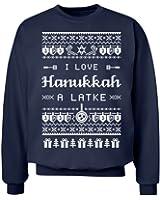 Hanukkah Ugly Sweaters: Unisex Hanes Ultimate Crewneck Sweatshirt