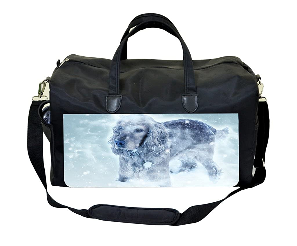 Puppy In The Snow Gym Bag