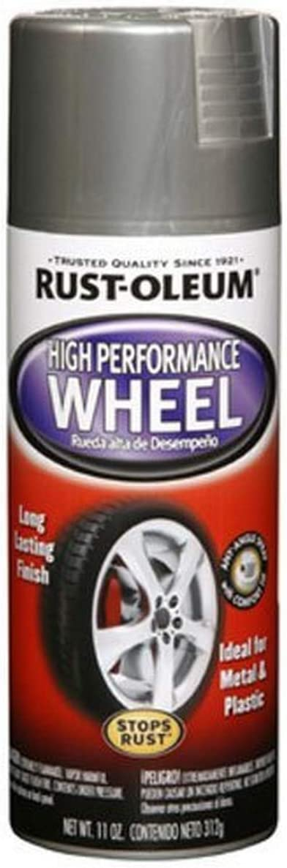 Rust-Oleum 248927 Automotive High Performance Wheel Spray Paint, 11 oz., SteelRust-Oleum 248927 Automotive High Performance Wheel Spray Paint, 11 oz., Steel