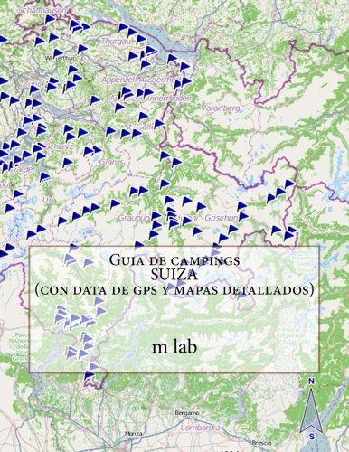 Guia de campings SUIZA con data de gps y mapas detallados: Amazon ...