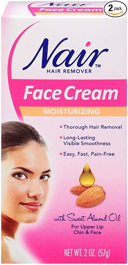 Amazon Com Nair Hair Remover Face Cream 2 Oz Pack Of 2 Health