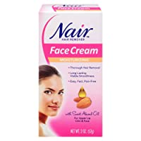Moisturizing Face Cream For Upper Lip Chin And Fac Nair 2 oz, Pack of 3