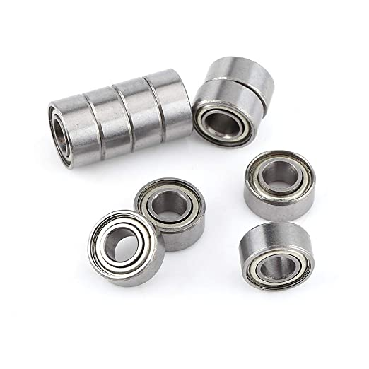 Cojinete de bolas, 10 piezas de acero con blindaje doble 685ZZ ...