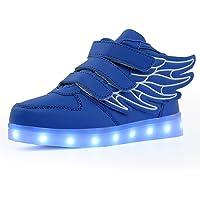 Kauson LED Zapatos Verano Ligero Transpirable Impermeable Bajo