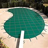 Yard Guard DG16325 Deck-Lock Mesh Safety Cover Green