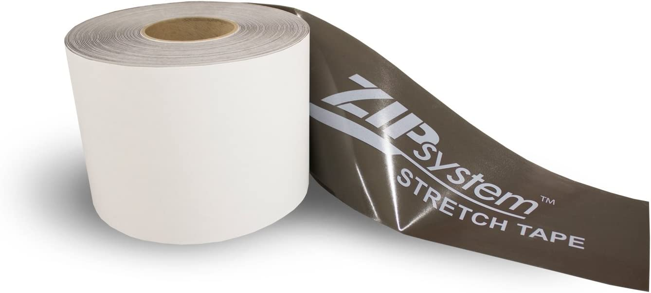 "6"" Huber Zip System Flashing Seam Tape for Windows /& Doors 1 Roll = 6"" x 75'"
