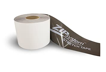 Huber ZIP System Stretch Tape | 10 inches x 75 feet | Self-Adhesive  Flexible Flashing for Doors-Windows B01M7VJNC8