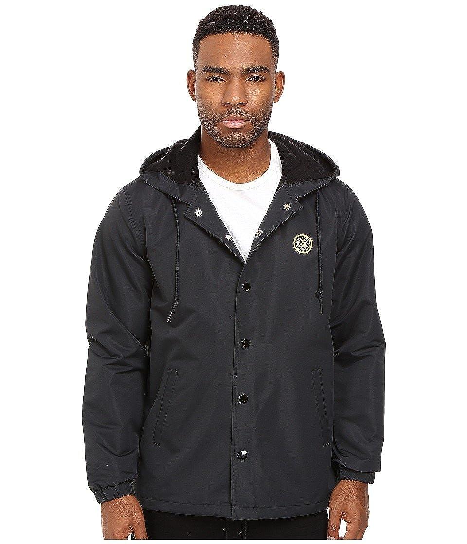 Obey -chaqueta cortavientos Hombre negro negro XL (US Talla ...