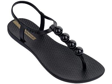 7a4aab3fa Ipanema Charm Pebble Black Sandal  Amazon.co.uk  Shoes   Bags