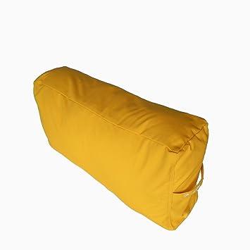 Yoga Bolster rectangular grande pierna/espalda cojín apoyo ...