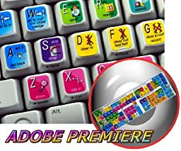 NEW ADOBE PREMIERE KEYBOARD STICKER