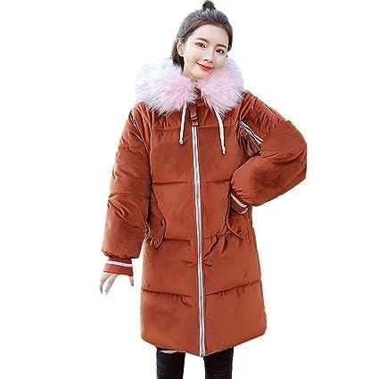 Oudan Abrigo de Invierno Abrigo de Damas, Moda para Mujer Invierno Cálido Chaqueta de Ocio