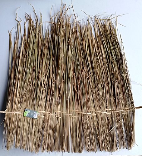Thatch Roofing - MGP Elephant Palm Thatch Roofing Material, 5 pc bundle