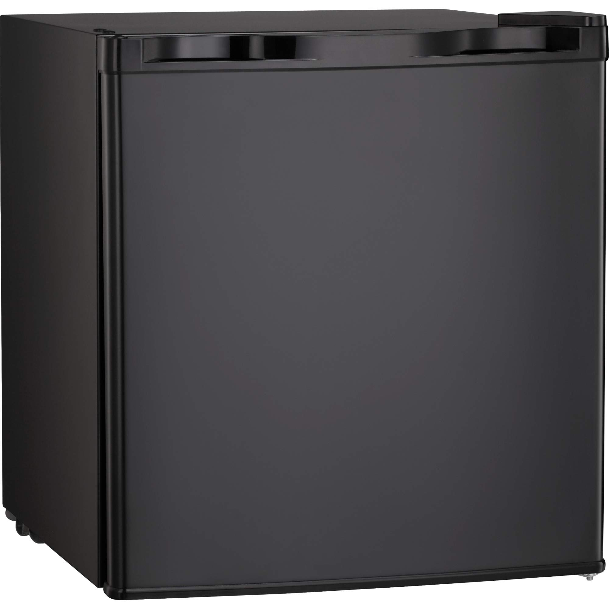 Antarctic Star Compact Mini Refrigerator Small Fridge Reversible Single Door Removable Stainless Steel, Dorm/Office Freezer1.62 cu ft Black by Antarctic Star