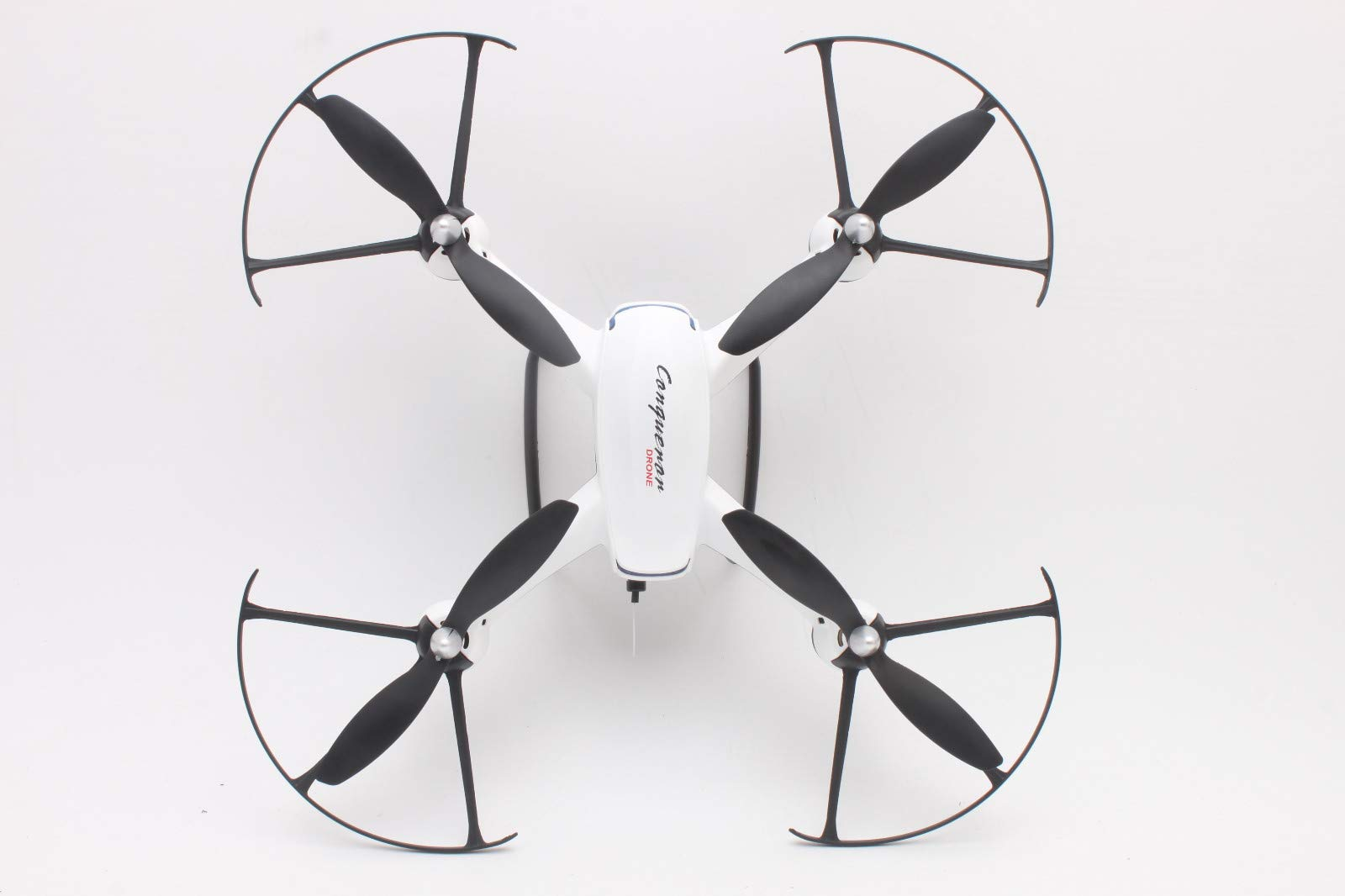 quietJUNjun toy RC Helicopter,DM009 2.4GHz 6-Axis Gyro 5MP Drone (White) by quietJUNjun toy (Image #3)