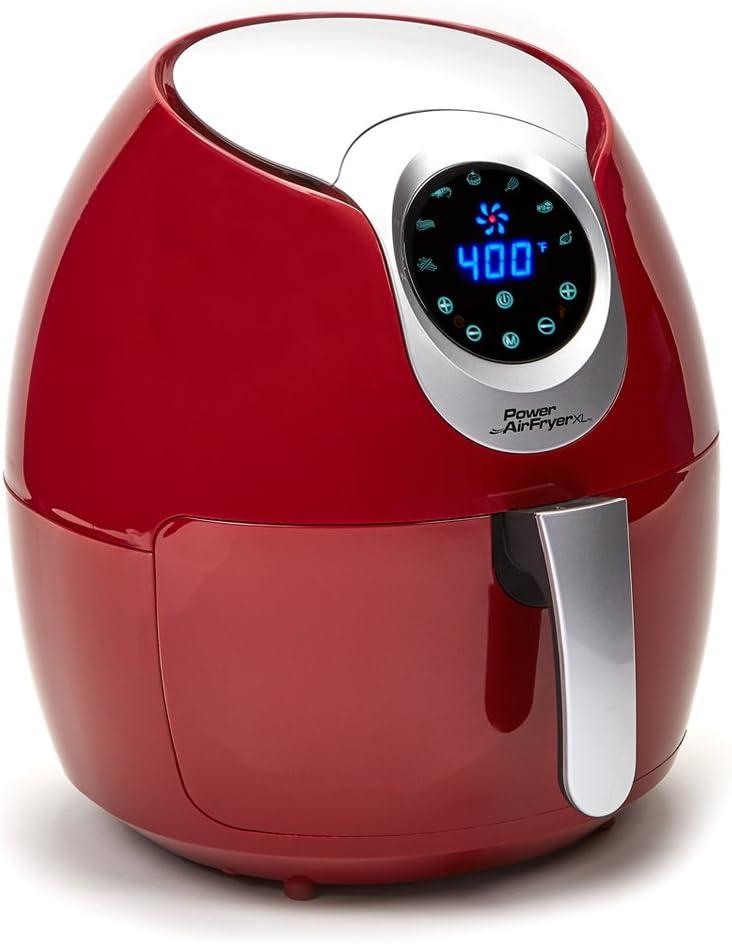 Power Air Fryer XL (3.4 QT, Red)